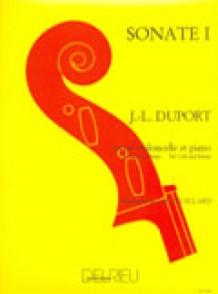 DUPORT J.L. SONATE  N°1 VIOLONCELLE