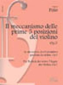 POLO MECANISME DES 5 PREMIERES POSITION OP 7 VIOLON