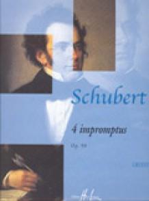 SCHUBERT F. IMPROMPTUS OP 90 PIANO