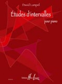 LAMPEL D. ETUDES D'INTERVALLES PIANO