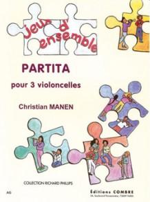 MANEN C. PARTITA VIOLONCELLES
