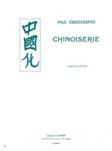 OBERDOERFFER P. CHINOISERIES VIOLON