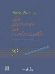 BOURIN O. LES GAMMES AU VIOLONCELLE