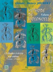 JOUBERT C.H. METHODE DE VIOLONCELLE VOL 3