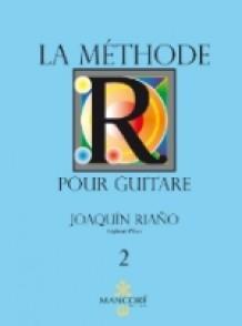 RIANO J. LA METHODE POUR GUITARE VOL 2