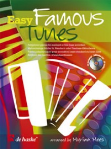 MEES M. EASY FAMOUS TUNES FOR ACCORDEON