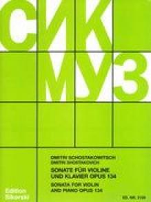 CHOSTAKOVITCH D. SONATE OP 134 VIOLON