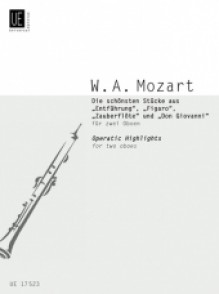 MOZART W.A. OPERATIC HIGHLIGHTS HAUTBOIS