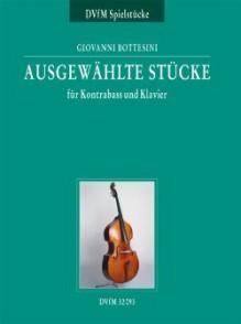 BOTTESINI G. AUSGEWAHLTE STUCKE CONTREBASSE