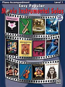EASY POPULAR MOVIE INSTRUMENTAL SOLOS ACCOMPAGNEMENT PIANO