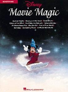 DISNEY MOVIE MAGIC BIG NOTES FOR PIANO