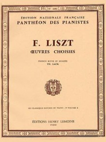 LISZT F. OEUVRES CHOISIES VOL 9B PIANO