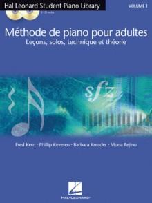 HAL LEONARD METHODE DE PIANO POUR ADULTES VOL 1