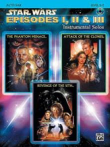 STAR WARS EPISODES I, II & III ALTO SAXO