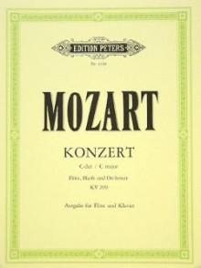 MOZART W.A. CONCERTO KV 299 FLUTE