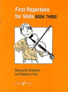 FIRST REPERTOIRE FOR VIOLA  BOOK 3 ALTO