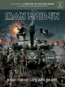 IRON MAIDEN A MATTER OF LIFE AND DEATH GUITARE