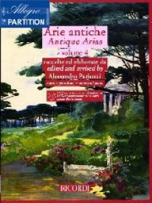 PARISOTTI A . ARIE ANTICHE VOL 4 CHANT PIANO