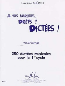 GHEDIN L. A VOS MARQUES... PRETS? DICTEES VOL 2 CORRIGES