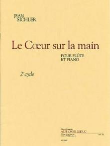 SICHLER J. LE COEUR SUR LA MAIN FLUTE