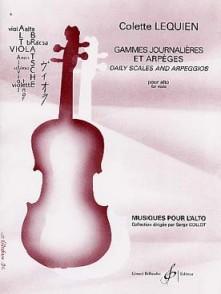 LEQUIEN C. GAMMES POUR ALTO