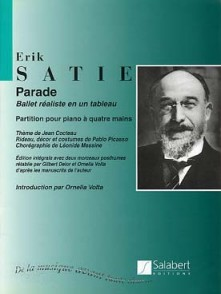 SATIE E. PARADE PIANO 4 MAINS