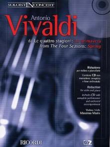 VIVALDI A. LES 4 SAISONS OP 8 N°3: L'AUTOMNE VIOLON