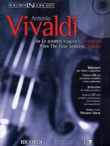 VIVALDI A. LES 4 SAISONS OP 8 N°4: L'HIVER VIOLON
