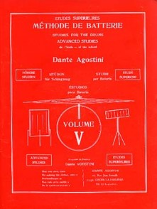 AGOSTINI DANTE METHODE DE BATTERIE VOL 5