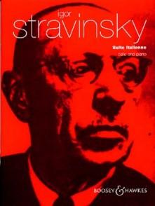 STRAVINSKY I. SUITE ITALIENNE VIOLONCELLE