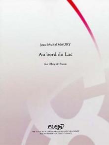 MAURY J.M. AU BORD DU LAC HAUTBOIS