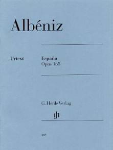 ALBENIZ I. ESPANA OP 165 PIANO