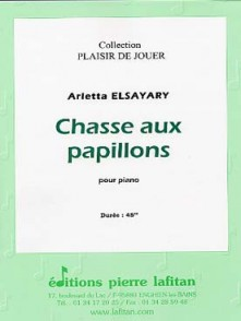 ELSAYARY A. CHASSE AUX PAPILLONS PIANO