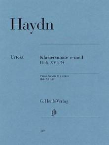 HAYDN J. SONATE HOB XVI: 34 PIANO