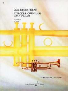ARBAN J.B. EXERCICES JOURNALIERS CORNET