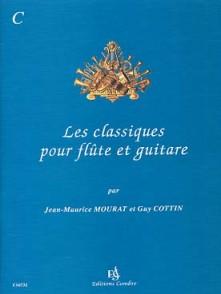 MOURAT J.M./COTTIN G. LES CLASSIQUES VOL C FLUTE GUITARE