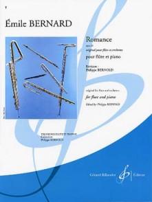 BERNARD E. ROMANCE OP 33 FLUTE