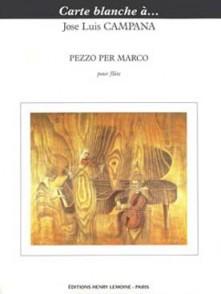 CAMPO J.L. PEZZO PER MARCO FLUTE SOLO