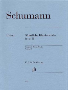 SCHUMANN R. OEUVRES COMPLETES VOL 2 PIANO