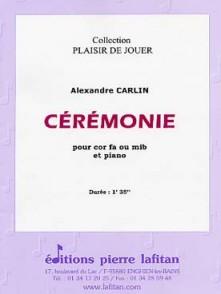CARLIN A. CEREMONIE COR EN FA OU MIB