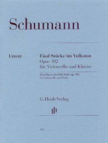 SCHUMANN R. 5 PIECES IN FOLK STYLE VIOLONCELLE
