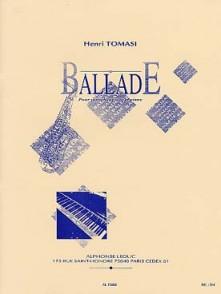 TOMASI H. BALLADE SAXO ALTO PIANO