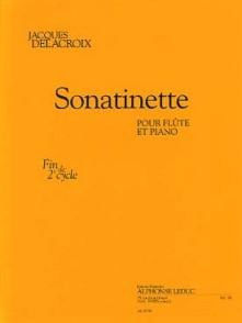 DELACROIX J. SONATINETTE FLUTE