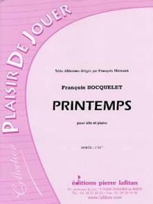 BOCQUELET F. PRINTEMPS ALTO