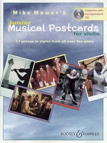 MOWER'S MUSICAL POSTCARDS JUNIOR VIOLON