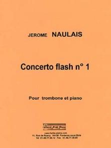 NAULAIS J. CONCERTO FLASH N°1 TROMBONE