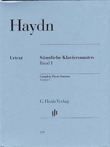 HAYDN J. SONATES VOL 1 PIANO