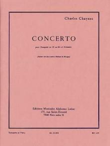 CHAYNES C. CONCERTO TROMPETTE UT OU SIB