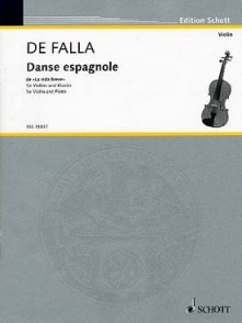 DE FALLA M. DANSE ESPAGNOLE DE LA VIE BREVE VIOLON