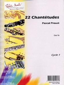 PROUST P. 22 CHANTETUDES COR